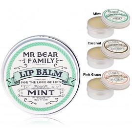 Mr. Bear Family Lip Balm lūpu balzams 15 ml.