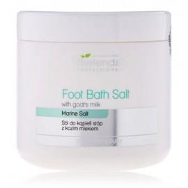 Bielenda Foot Bath Salt White Goats Milk atjaunojošs sāls kāju vannām