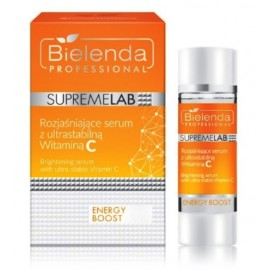 Bielenda Supremelab Energy Boost balinošs sejas serums ar C vitamīnu 15 ml.