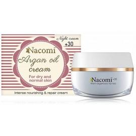 NACOMI Argan Oil Night Cream +30 nakts sejas krēms sausai / normālai ādai 50 ml.