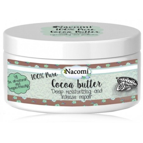 NACOMI Pure Cocoa Butter ķermeņa sviests 100 ml.