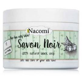 NACOMI Savon Noir dabīgas melnas ķermeņa un sejas ziepes