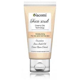 Nacomi Moisturizing sejas skrubis sausai, normālai ādai 85 ml.