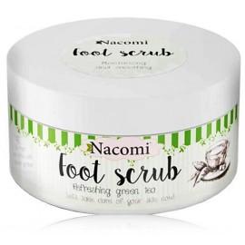 Nacomi Refreshing Green Tea Foot Scrub скраб для ног 125 г.