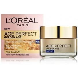 Loreal Age Perfect Golden Age Night Cream nakts krēms nobriedušai ādai 50 ml.