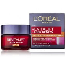 Loreal RevitaLift Laser Renew dienas sejas krēms ar SPF20 50 ml.