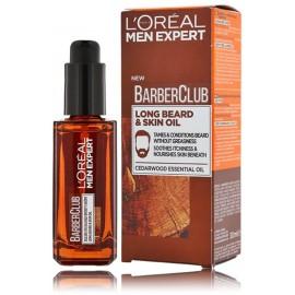 Loreal Paris Men Expert Barber Club Lond Beard & Skin Oil bārdas un sejas eļļa vīriešiem