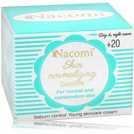 Nacomi Skin Normalizing Cream ādu normalizējošs sejas krēms