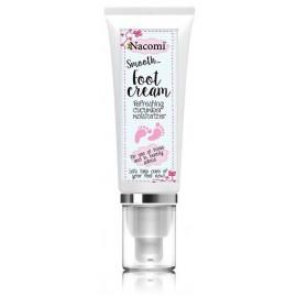 Nacomi Smooth Foot Cream Refreshing Cucumber Moisturizer mitrinošs pēdu krēms