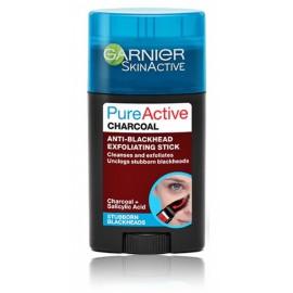Garnier Pure Active Charcoal Anti-Blackhead Exfoliating Stick sejas skrubis