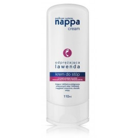 Silcare Nappa Cream расслабляющий крем для ног с экстрактом лаванды