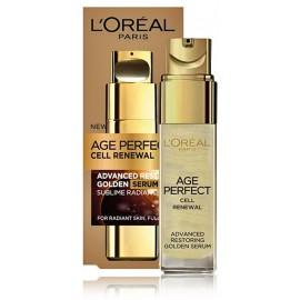 L'Oreal Age Perfect Cell Reneval 50+ Golden Serum serums nobriedušai ādai