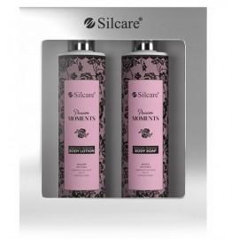 Silcare Passion Moments ķermeņa kopšanas komplekts (250 ml. ķermeņa losjons + 250 ml. šķidrās ziepes)