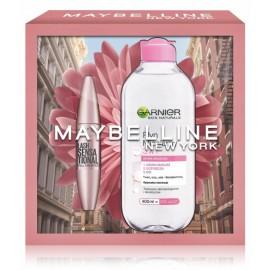 Maybelline Lash Sensational  komplekts (skropstu tuša 9,5 ml. + micelārais ūdens 400 ml.)