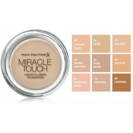 Max Factor Miracle Touch meikapa bāze