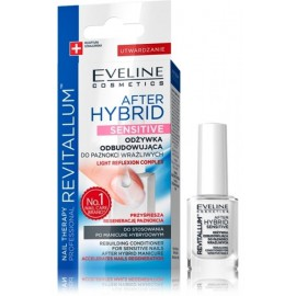 Eveline Revitallum After Hybrid Sensitive serums un nagu lakas bāze