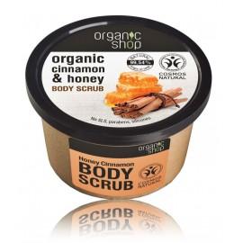 Organic Shop Organic Cinnamon & Honey Body Scrub ķermeņa skrubis