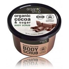 Organic Shop Organic Cocoa & Sugar Body Scrub ķermeņa skrubis
