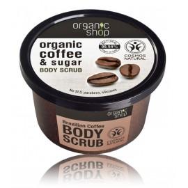 Organic Shop Organic Coffee & Sugar Body Scrub ķermeņa skrubis