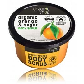 Organic Shop Organic Orange & Sugar Body Scrub ķermeņa skrubis