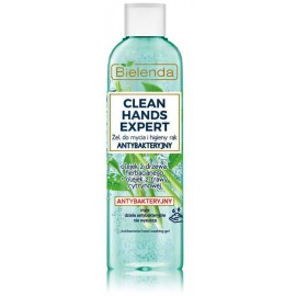 Bielenda CLEAN HANDS EXPERT ANTIBACTERIAL Gel For Cleaning And Hand Hygiene antibakteriāla roku želeja