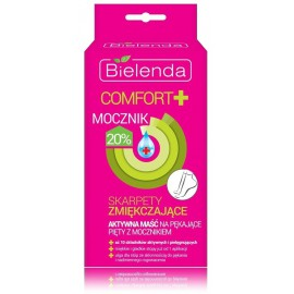Bielenda COMFORT Softening Socks Cracked 20% Urea ziede sausu papēžu kopšanai
