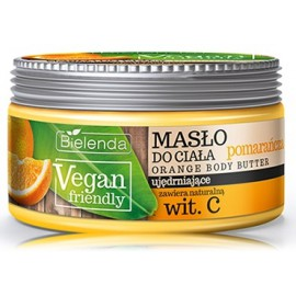 Bielenda Vegan Friendly Orange Body Butter ķermeņa sviests