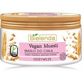 Bielenda Vegan Muesli Nourishing Body Butter barojošs ķermeņa sviests