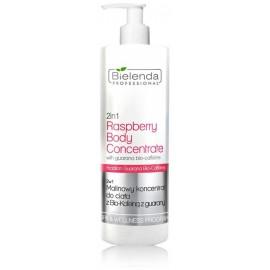 Bielenda Professional 2in1 Raspberry Body Concentrate ķermeņa koncentrāts ar aveņu aromātu