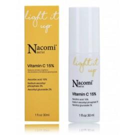 Nacomi Next Level Light Up Vitamin C 15% balinošs sejas serums