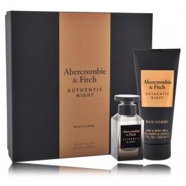 Abercrombie & Fitch Authentic Night Man komplekts vīriešiem (50 ml. EDT + dušas želeja 200 ml.)