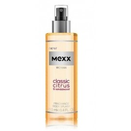 Mexx Woman Classic Citrus & Sandalwood Body Mist ķermeņa sprejs