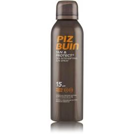 Piz Buin Tan & Protect Tan Intensifying Sun Spray SPF 15 iedeguma aerosols