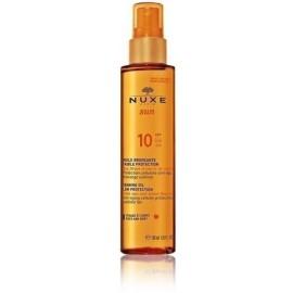 Nuxe Sun Tanning Oil SPF10 sauļošanās eļļa