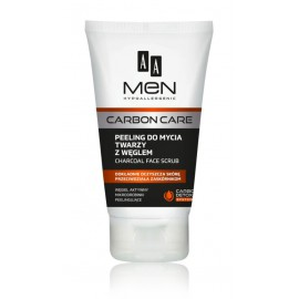 Oceanic AA Men Carbon Care Charcoal Face Scrub sejas skrubis vīriešiem