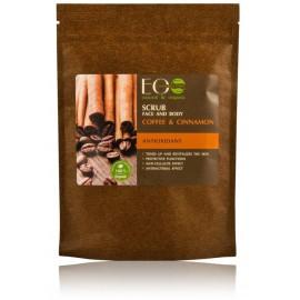 Ecolab Scrub Face & Body Coffee & Cinnamon sejas un ķermeņa skrubis