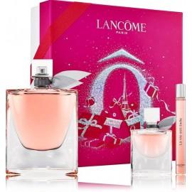 Lancome La Vie Est Belle komplekts sievietēm (100 ml. EDP + 10 ml. EDP + 4 ml. EDP)