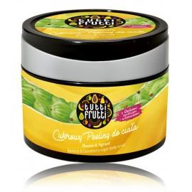 Farmona Tutti Frutti Banana & Gooseberry Sugar Body Scrub barojošs ķermeņa skrubis