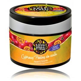 Farmona Tutti Frutti Papaja & Tamarillo Sugar Body Scrub atsvaidzinošs ķermeņa skrubis