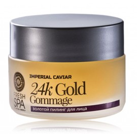 Natura Siberica Fresh Spa Imperial Caviar 24k Gold Face Peel atjaunojošs sejas skrubis