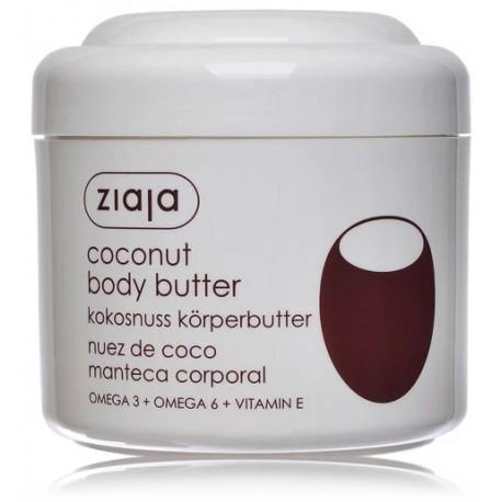Ziaja Coconut Body Butter ķermeņa sviests
