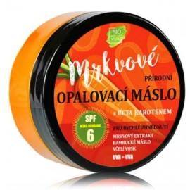 Vivaco 100% natūralus kūno sviestas deginimuisi su morkų ekstraktu