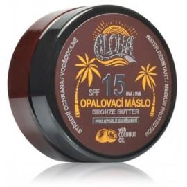 Vivaco Aloha kūno sviestas su kokosų aliejumi deginimuisi