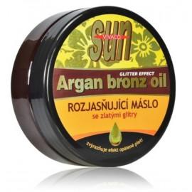 Vivaco SUN Argan Bronz Oil kūno sviestas su argano aliejumi po deginimosi