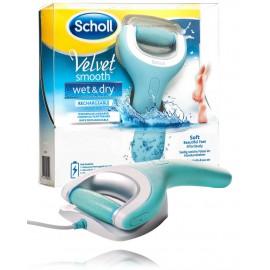 Scholl Velvet Smooth Wet & Dry elektrinis, pakraunamas pėdų šveitiklis