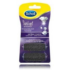 Scholl Velvet Smooth сверхжесткие чистящие насадки