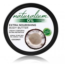 Naturalium Coconut drėkinantis kūno sviestas