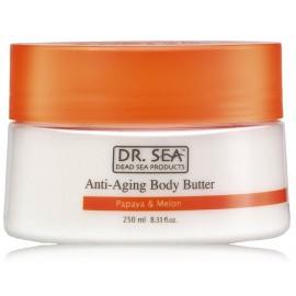 Dr. Sea Anti-Aging Body Butter Papaya & Melon kūno sviestas