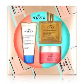 Nuxe Essential Face Care veido odos priežiūros rinkinys (30 ml. kremas + 50 ml. sausas aliejus + 50 ml. kaukė)