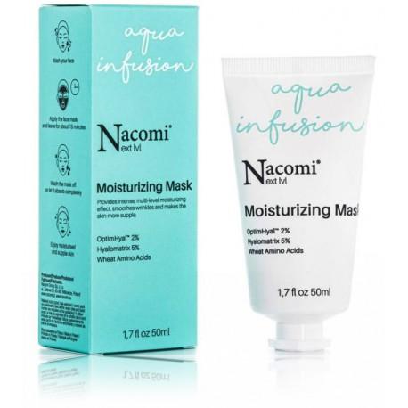 Nacomi Next Level Moisturizing Mask drėkinanti veido kaukė